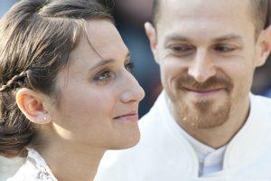 Esküvői fotó menyasszony vőlegény